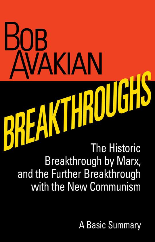 Breakthroughs book cover